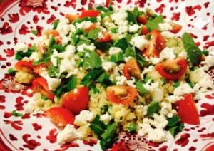 Couscous salade met feta l recept l Dietiste Sleegers