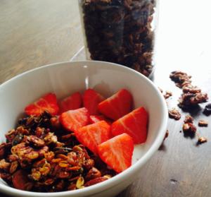 Homemade granola l recept l Dietiste Sleegers te Deurne