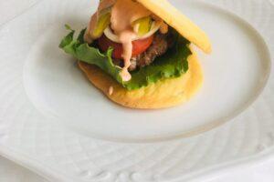 Oopsie broodje hamburger l recept l Diëtiste Sleegers