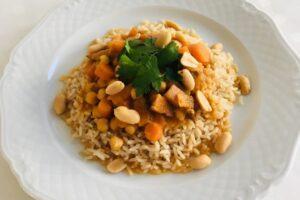 Vegetarische curry l recept l Diëtiste Sleegers te Deurne
