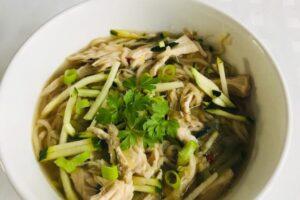 Vietnamese noodlesoep l recept l Diëtiste te Deurne