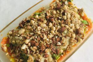 Vegan ovenschotel l recept l Diëtiste Sleegers te Deurne