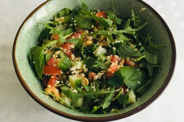 Couscous salade BBQ