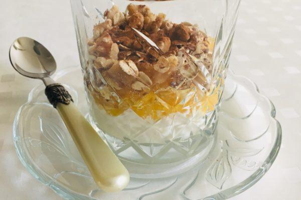 Trifle van Sinaasappel